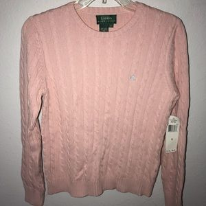 NEW Ralph Lauren Cable Knit Sweater Women's Small